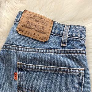 Levi's Jeans - Levi's orange tab 505 high waisted mom jeans
